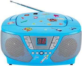 Bigben Interactive Tragbares Cd/Radio - Kids Blau Neu