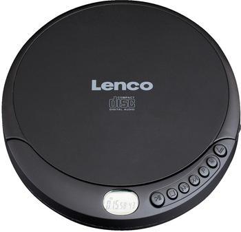 Lenco CD-010 Tragbarer CD-Player CD, CD-RW, CD-R Akku-Ladefunktion Schwarz