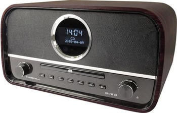 Albrecht DR 790 DAB+ CD-Radio AUX,Bluetooth®,CD,DAB+,UKW Braun