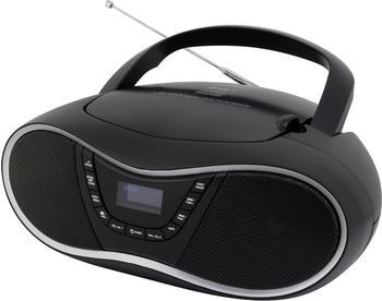 Soundmaster SCD1990SW Analog & Digital Schwarz Tragbares Stereosystem