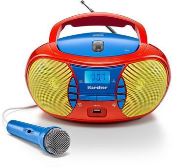 karcher-rr-5026-ukw-cd-radio-cd-usb-ukw-inkl-mikrofon-rot-blau-gelb