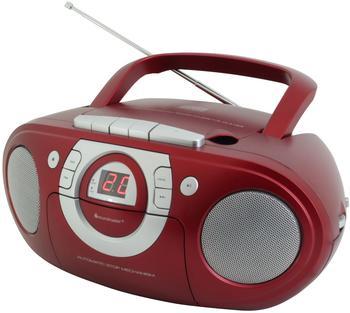 Soundmaster SCD5100 rot
