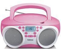 Lenco CD-Player rosa