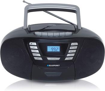 Blaupunkt B 120 BK CD-Player (UKW/FM PLL, UKW/FM PLL, UKW/FM PLL, 6 W, tragbarer Kinder CD Player mit Bluetooth