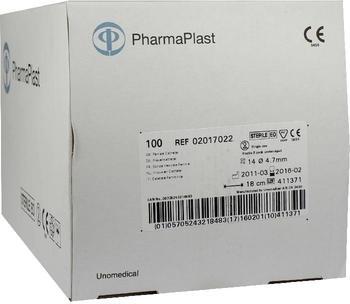 Ehrhardt Medizinprodukte Katheter Frauen CH 14 18cm 2seit. Aug. geschl. Sp. (100 Stk.)