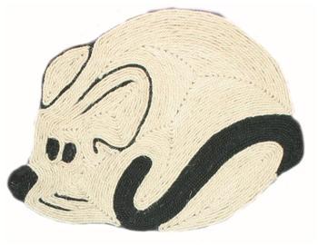Trixie Kratzmatte Maus