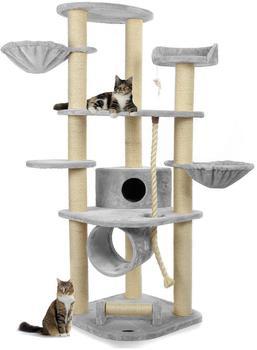 Happy Pet CAT021 deckenhoch 186 cm grau