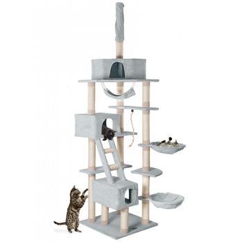 Happy Pet Kratzbaum 60 x 60 x 260 cm grau