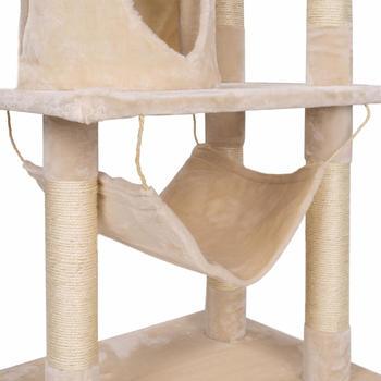 HappyPet Kratzbaum für Katzen mittelgroß 157 cm