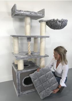 RHRQuality Kratzbaum Cat Relax Light Grey
