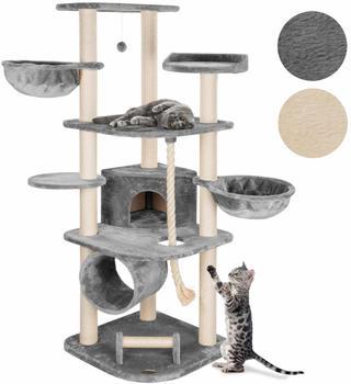 HappyPet Kratzbaum für grosse Katzen grau
