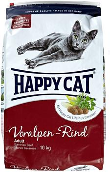 Happy Cat Adult Voralpen-Rind (10 kg)