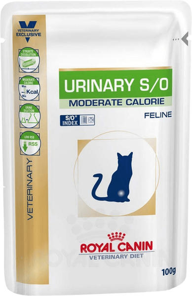 Royal Canin Urinary S/O mit Lachs (Beutel/100 g)