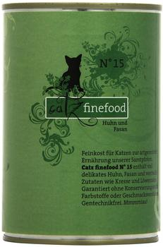Catz finefood No. 15 Huhn & Fasan 6 x 400 g