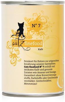 Catz finefood Classic No.7 Kalb (6x 400g)