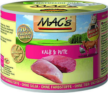MACs Kalb & Pute 6 x 200 g