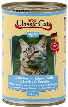 Classic Cat | Forelle in Soße | 12 x 415 g