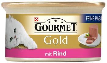 Gourmet Gold Feine Pastete Rind 12 x 85 g