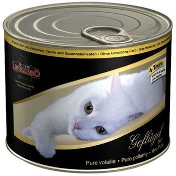 LEONARDO Cat Food All-Meat Kaninchen (200 g)