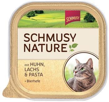 Schmusy Natures Menü Huhn, Lachs & Pasta 16 x 100 g