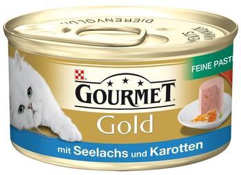 Gourmet Gold Feine Pastete Seelachs & Karotten (85 g)