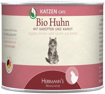 HERRMANNS Bio Huhn mit Karotten & Kamut 12 x 200 g