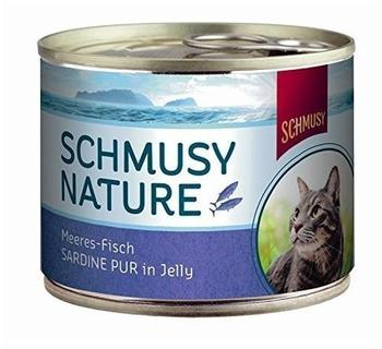 SCHMUSY Sardine pur in Jelly 12 x 185 g