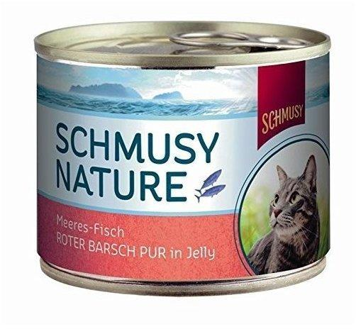 Schmusy Nature Meeres-Fisch Roter Barsch Pur in Jelly