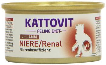 KATTOVIT Niere/Renal Lamm 24 x 85 g