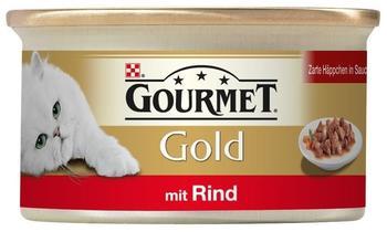 Gourmet Gold Zarte Häppchen in Sauce Rind (85 g)