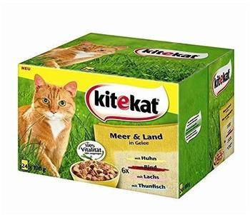 Kitekat Meer & Land in Gelee 24 x 100 g
