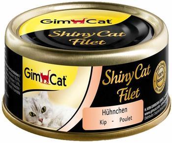 Gimpet ShinyCat 6x70g - Hühnchen