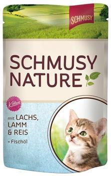Schmusy Natures Menü Kitten Lachs (100 g)