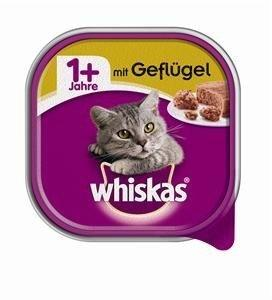 whiskas-schale-adult-1-mit-gefluegel-32x-100g-katzenfutter-schaelchen-32x100g