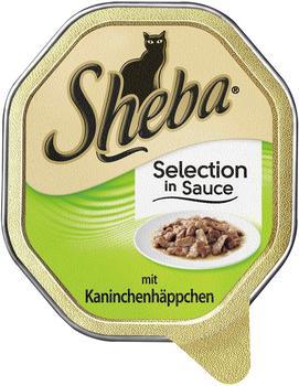Sheba Selection in Sauce mit Kaninchenhäppchen 36 x 85 g
