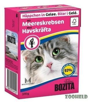 Bozita Häppchen in Gelee Meereskrebs (370 g)
