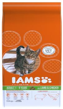 IAMS Adult mit Lamm 15 kg