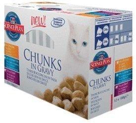 Hill's Feline Kitten Chunks in Gravy (12 x 100 g)