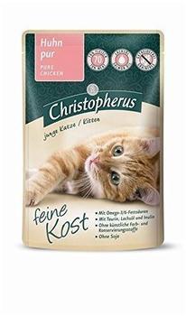 Allco Christopherus Feine Kost Kitten Huhn pur 12 x 85 g