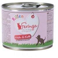 Feringa Kitten Huhn & Kalb 6 x 200 g