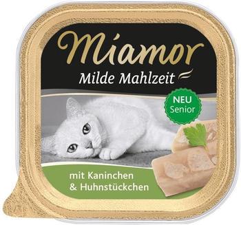 Miamor Milde Mahlzeit Senior Kaninchen & Huhnstückchen (100 g)