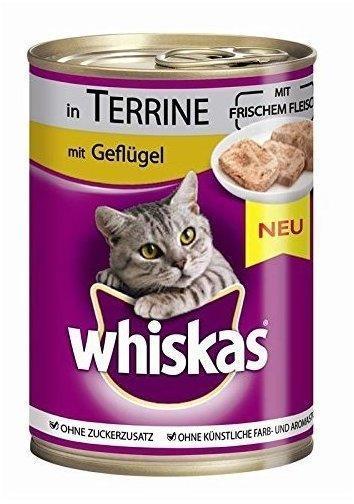 Whiskas Adult Terrine mit Geflügel 400 g