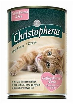 Allco Christopherus Cat Dose junge Katzen Geflügelherze(UMPACKGROSSE 6