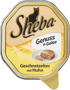 Sheba Genuss in Gelee Geschnetzeltes mit Huhn