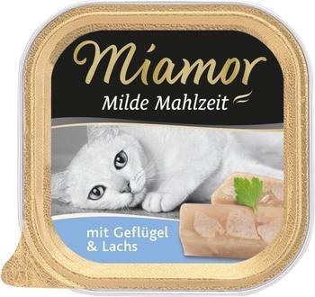Miamor Milde Mahlzeit Geflügel & Lachs 100g