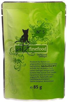 Catz finefood No.5 Lachs (85 g)