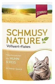 Schmusy Vollwert Flakes Huhn & Reis (100 g)