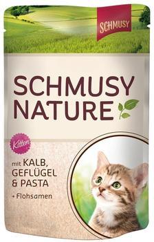 Schmusy Natures Menü Kitten Kalb 100g