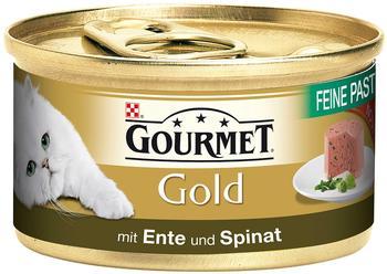 Gourmet Gold Feine Pastete Ente & Spinat (85 g)