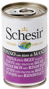 Schesir Brühe Thunfisch mit Schinken (140 g)